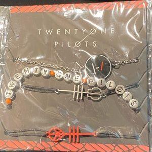 NWT Twenty One Pilots bracelets